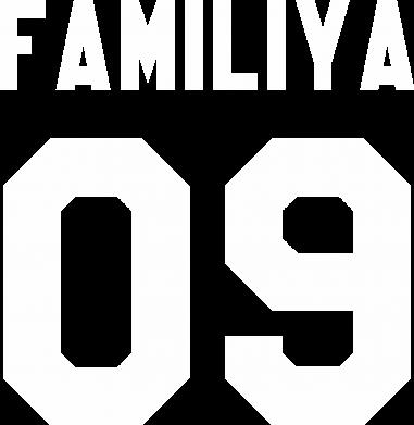 Принт Женская футболка с V-образным вырезом Ваша фамилия и номер - FatLine