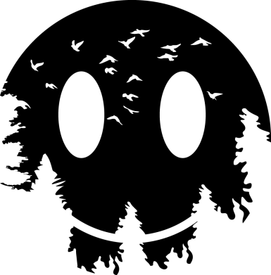 Принт Чохол для Meizu E3 Smiley Moon - FatLine