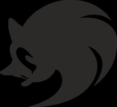 Принт Жіноча футболка Sonic logo, Фото № 1 - FatLine