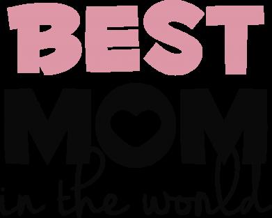 Принт Жіноча футболка Best mom, Фото № 1 - FatLine
