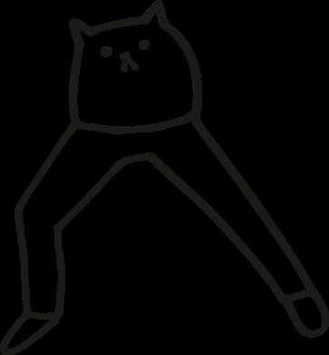 Принт Кружка 320ml Cat in pants, Фото № 1 - FatLine