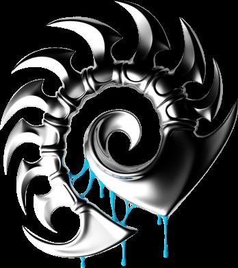 Принт Женская толстовка Zerg Symbol - FatLine