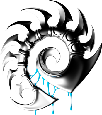 Принт Футболка Zerg Symbol - FatLine