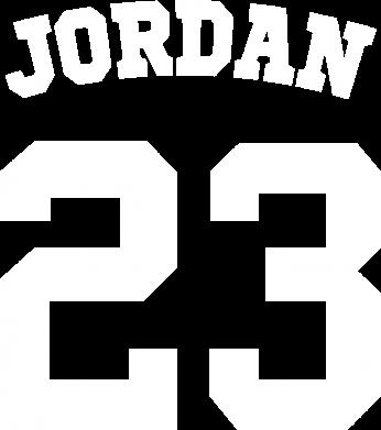 Принт Футболка Джордан 23 - FatLine