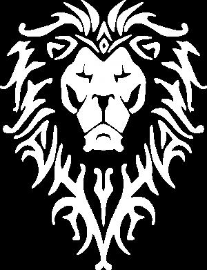 Принт Мужская футболка  с V-образным вырезом Альянс - FatLine