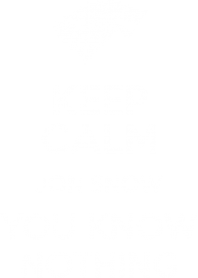 Принт Футболка Keep Calm Jon Snow - FatLine