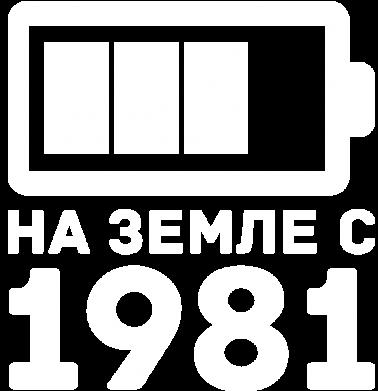 Принт Женская толстовка 1981 - FatLine