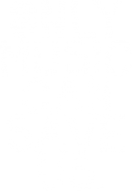 Принт Кепка Only music can save us., Фото № 1 - FatLine