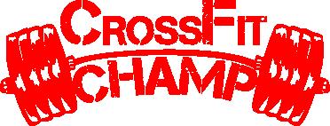 Принт Фартук CrossFit Champ - FatLine