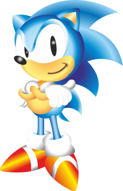 Принт Тельняшка с длинным рукавом Sonic - FatLine