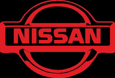 Принт Фартук логотип Nissan - FatLine