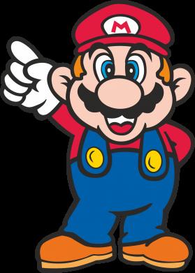 Принт Женская футболка поло Супер Марио - FatLine