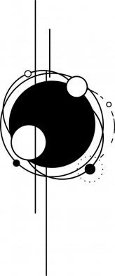 Принт Жіноча футболка Abstraction of the planets, Фото № 1 - FatLine