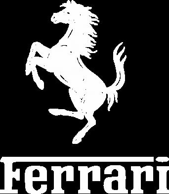 Принт Снепбек логотип Ferrari - FatLine