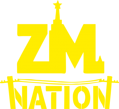 Принт Наклейка ZM nation - FatLine