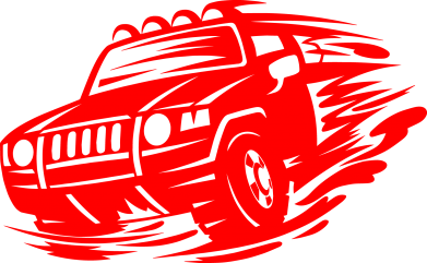 Принт Жіноча футболка Jeep, Фото № 1 - FatLine