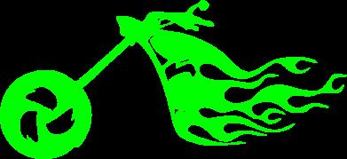 Принт Реглан (свитшот) Аццкий байк - FatLine