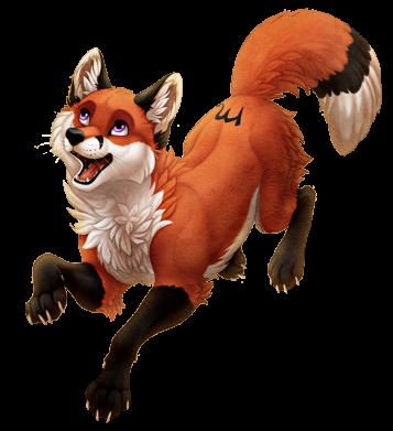 Принт Кепка Fox in flight, Фото № 1 - FatLine