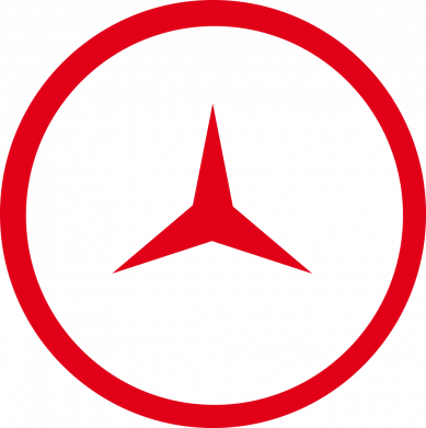 Принт Женская футболка Mercedes new logo, Фото № 1 - FatLine