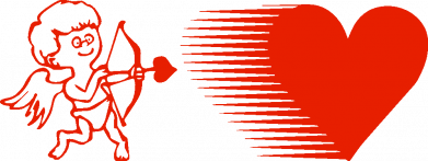 Принт Мужская толстовка Купидон, Фото № 1 - FatLine