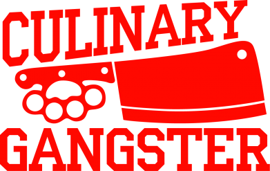 Принт Фартук Culinary Gangster - FatLine