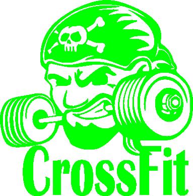 Принт Футболка Angry CrossFit - FatLine