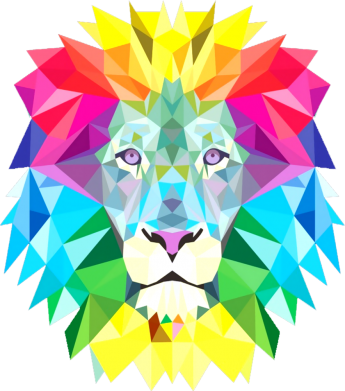 Принт Кепка Lion vector, Фото № 1 - FatLine