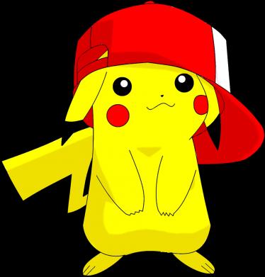 Принт Кепка Pikachu in a cap, Фото № 1 - FatLine