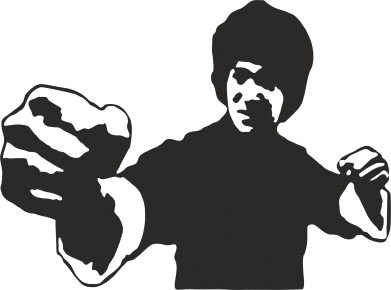 Принт Реглан (свитшот) Джеки Чан - FatLine