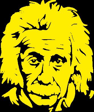 Принт Футболка Поло Энштейн - FatLine