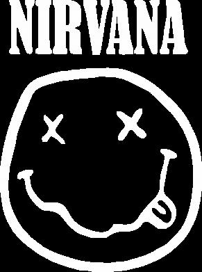 Принт Камуфляжная футболка Nirvana (Нирвана) - FatLine