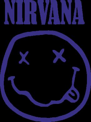 Принт Подушка Nirvana (Нірвана) - FatLine