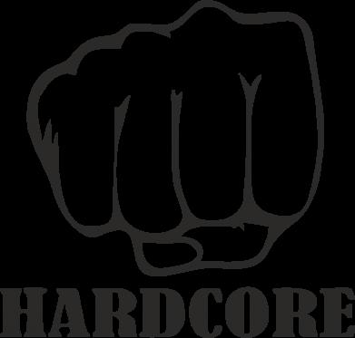 Принт Кепка-тракер hardcore - FatLine