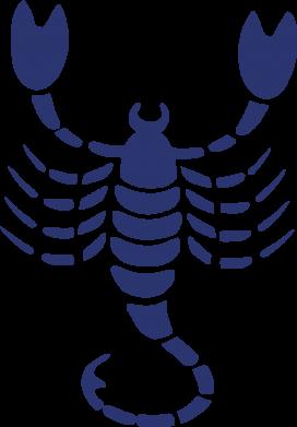 Принт Коврик для мыши скорпион - FatLine