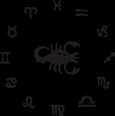Принт Майка-тельняшка сорпион 4 - FatLine