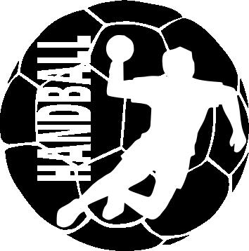 Принт Женская футболка поло Handball Logo - FatLine
