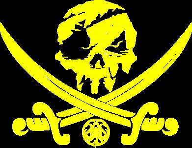 Принт Жіноча футболка Flag pirate, Фото № 1 - FatLine