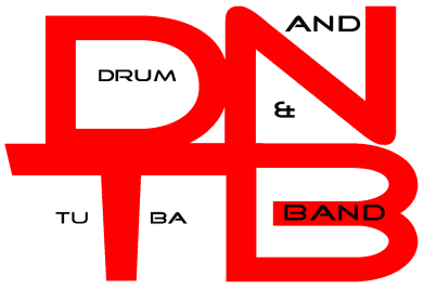 Принт Фартук Drum&Tuba Band Logo - FatLine
