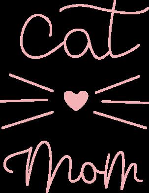 Принт Жіноча футболка Cat mom, Фото № 1 - FatLine