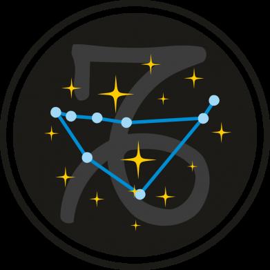 Принт Женская футболка Capricorn constellation, Фото № 1 - FatLine