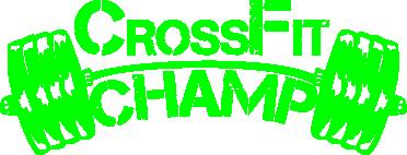 Принт Женская майка CrossFit Champ - FatLine
