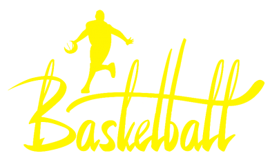 Принт Женская футболка поло Надпись Баскетбол - FatLine