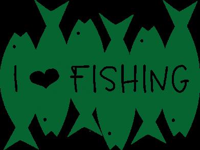 Принт Кружка 320ml I Love Fishing, Фото № 1 - FatLine