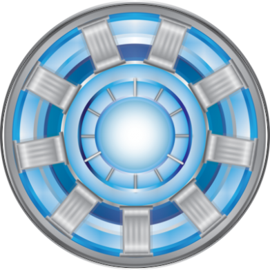 Принт Реглан (свитшот) Реактор Тони Старка - FatLine