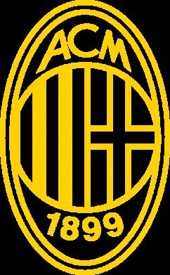 Принт Жіноча футболка AC Milan logo, Фото № 1 - FatLine