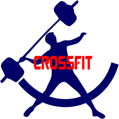 Принт Футболка Поло CrossFit Logo - FatLine
