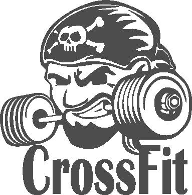 Принт Футболка Поло Angry CrossFit - FatLine