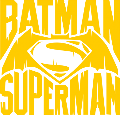 Принт Мужская толстовка Бэтмен vs. Супермен - FatLine