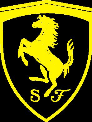 Принт Жіноча футболка Ferrari horse, Фото № 1 - FatLine