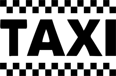Принт Майка-тельняшка TAXI - FatLine